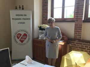 Uroczyste obchody Międzynarodowego Dnia Pielęgniarki i Dnia Położnej - Uroczysty obiad dla jubilatek - Elbląg, 10 maja 2019 r.
