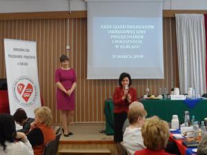 XXIII Zjazd Delegatów Okręgowej Izby Pielęgniarek i Położnych Elbląg 29 kwietnia 2014 r.
