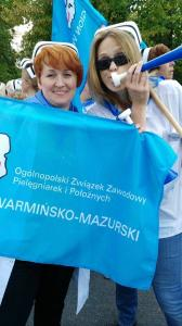 Manifestacja pod Kancelarią Prezesa Rady Ministrów i Sejmem RP - Warszawa 10.09.2015 r.